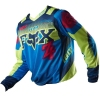 BLUZA FOX HC 180 IMPERIAL BLUE/YELLOW OFF-ROAD HIT 2015 !!!