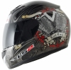 KASK LS2 FF350 EVIL TWIN RED