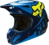 Kask FOX V1 Race BLUE/YELLOW Off-Road Hit 2016