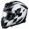 KASK SPORTOWY AIROH GP 500 DRIVE WHITE KEVLAR CARBON
