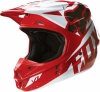 Kask FOX V1 Race RED Off-Road Hit 2016