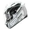 KASK SHARK SPEED R SAURA Srebrny BLENDA ANTI FOG Pinlock + Gratis