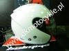 KASK OTWARTY OZONE A802 BLENDA Przeciws�oneczna White
