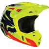 Kask FOX V2 RACE BLUE/YELLOW Off-Road Hit 2016